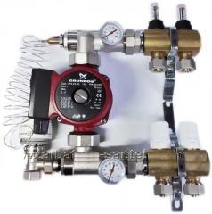 Коллектор водяного теплого пола SD 2-12...
