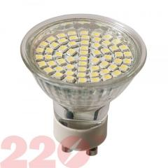 LED lamp of 3528 MRG 4.0W 220 18 SMD GU10 4100K