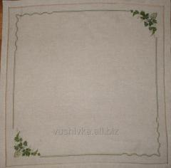 The cloth embroidered handwork