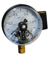 Electrocontact MT-3S manometers
