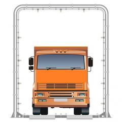 Автоматические системы для дезинфекуции автотранспорта