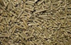 Комбикорма и отруби гранулированные