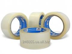 Клейкая лента скотч упаковочный прозрачный (48мм х
