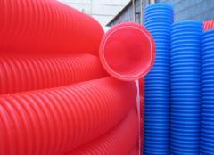 Pipe corrugated protective Peshel