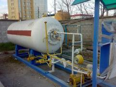 АГЗП -7 (5+5, 10м3) пропан, газовая АЗС,