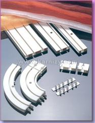 EAVES Ceiling plastic CM,GK. Measurements,