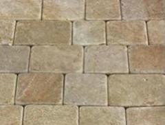 Paving sandstone 10h10h0,5 cm (Brukіvka of
