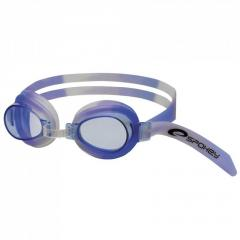 Очки для плавания детские Spokey JELLYFISH сине-белые, Польша