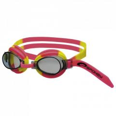 Очки для плавания детские Spokey JELLYFISH красно-желтые, Польша