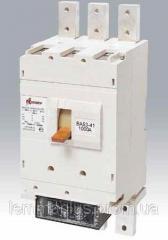 Автоматический выключатель ВА 5541 1000А выкатной с ручным приводом