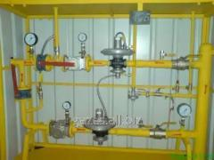 Gas distribution point of cupboard type (GRPSh,