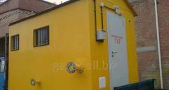 Блокові газорегуляторние пункти (ГРПБ) до 15 тис. м3/ч.