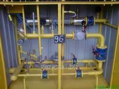Шафові газорозподільні установки з ПУГ