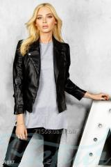 Ecoleather jacket leather biker jacke