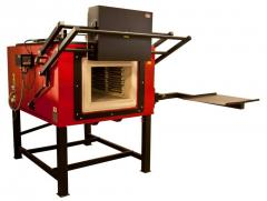 Hardening furnaces of the chamber PK type