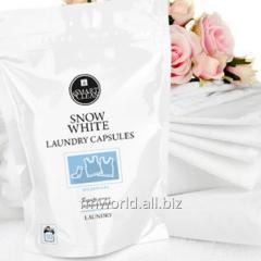 Капсулы для стирки  белых тканей