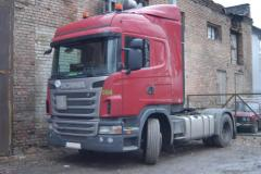 SCANIA G420 tractor