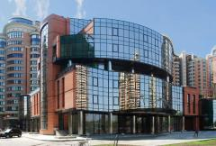 Facade systems made ​​of glass
