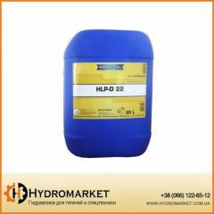 Гидравлическое масло HLP-22