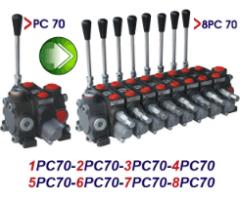 Механический гидрораспределитель секционный PC70