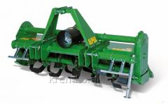 Horizontally milling cultivator, the ALPHA model