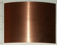 Brass plates.