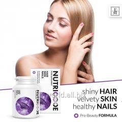 Диетическая добавка с нутриентами волосы кожа