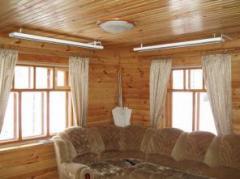 Infrared heaters of Bilyuks for the house,