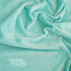 Fabric of Streych velvet (blue mint) 6679