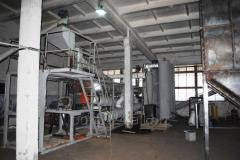 Universal pyrolysis installation of continuous