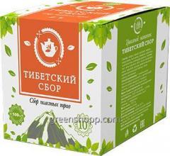 Лекарственный чай Тибетский Сбор от паразитов