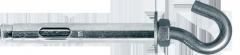 Анкер однораспорный с С-образным крючком Код: SRTR-С 8/10х70 Фастенер хаус