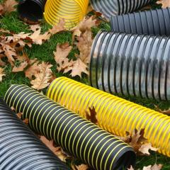Plastic pipes (PVC and PU)