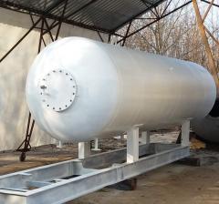 Емкость для газа на АГЗП бочка