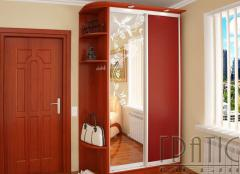 Sliding wardrobe 1200х2400х450 with an angular
