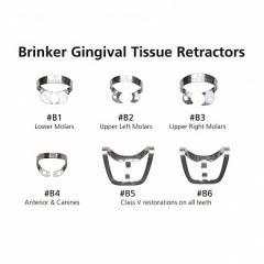 Кламмеры 1шт для сильно разрушеных зубов Hygenic® Brinker Clamps