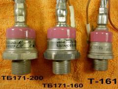 Тиристоры и Симисторы ТБ171-200-10....