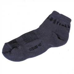 Носки треккинговые низкие серые