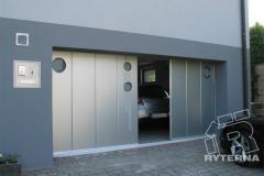 Гаражные откатные ворота Ryterna (модель SSD)