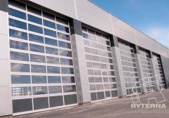 Секционные промышленные ворота Ryterna