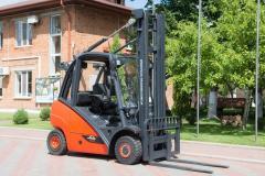 Diesel loader of Linde H25D