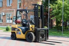 Gas loader of Caterpillar GP30N