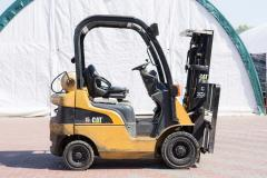 Gas loader of Caterpillar GP15N