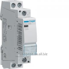 Contactor 25A, 2NV, 230V, 1 m of ESC225