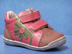 Колекція осіннього взуття для дівчаток