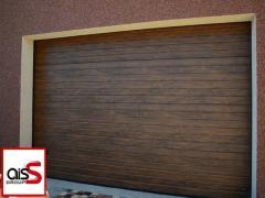 Секционные гаражные ворота Ryterna