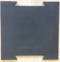 Modular plate puzzle of 700 mm x 700 mm x 20 mm