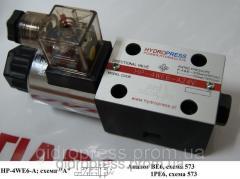 Гидрораспределитель с электроуправлением -...
