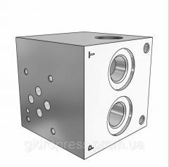 Плита гидравлическая монтажная 1 секция DN06