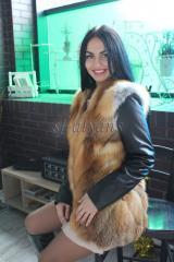 Куртка - трансформер из канадской лисы...